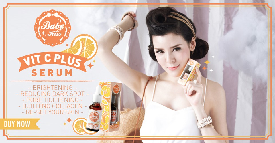 6.Baby Kiss VIT C SERUM PLUS
